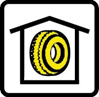Skladiščenje pnevmatik